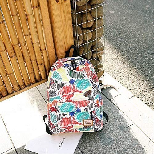 Casual Gran Estampados Adolescentes Antirrobo Simple Fashion Oxford Diario Viaje Viajes Varios Colores Moodn Bolsos Mujer Mochilas Capacidad Mochila Universitarias 5na7xO6