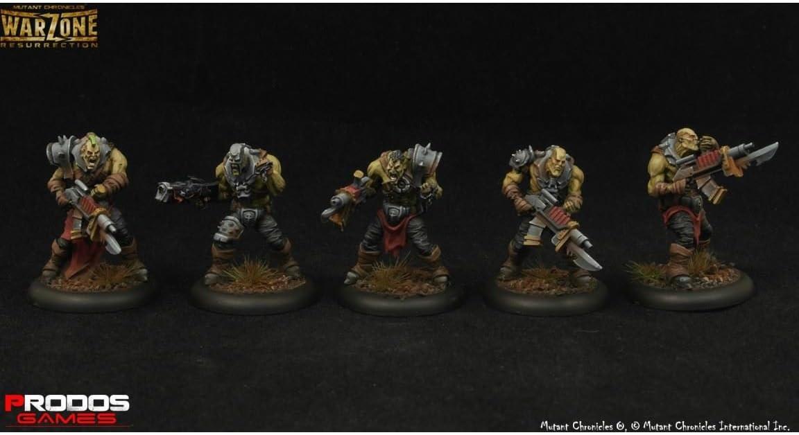 Mutant Chronicles Warzone Resurrection Dark Legion Legionnaires Prodos
