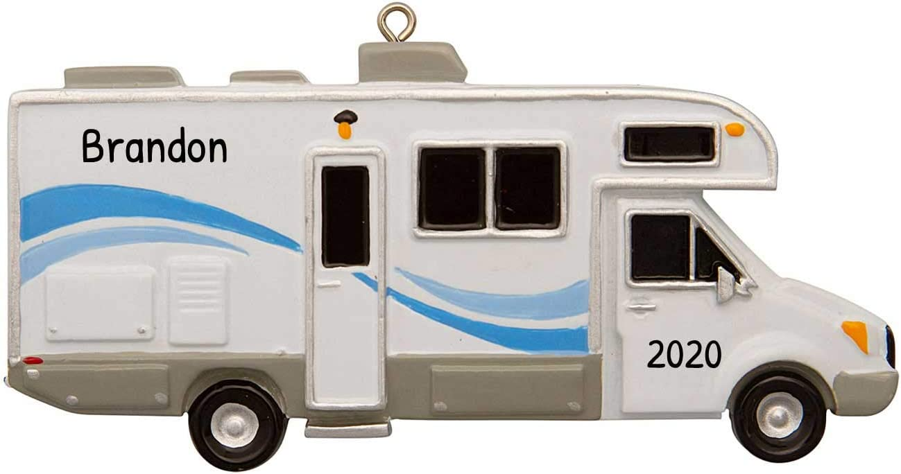 Personalized Windstream Camper Christmas Tree Ornament 2021 - Airstream Recreational Vehicle Home-Away 1st Hobby Truck Family Friend Couple Ride Summer Outdoor Active Wood Year - Free Customization