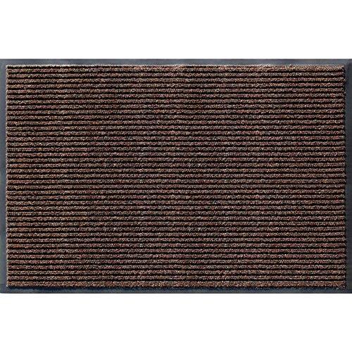 Utility Mats Enviroback Apache Rib Door Mat, 2-Feet by 3-Feet, Cocoa