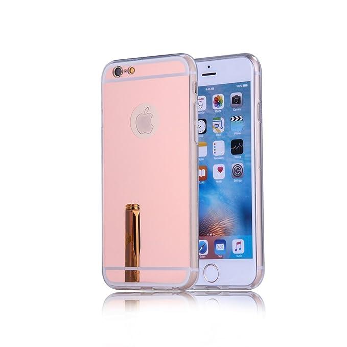 3 opinioni per DBIT iPhone 6S Plus Case, Specchio TPU Custodia protettiva Cover per Apple