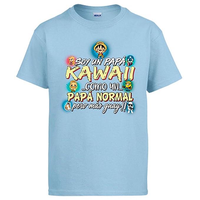 Diver Camisetas Camiseta Soy Un Papá Kawaii Como Un Papá Normal Pero Más Guay: Amazon.es: Ropa y accesorios