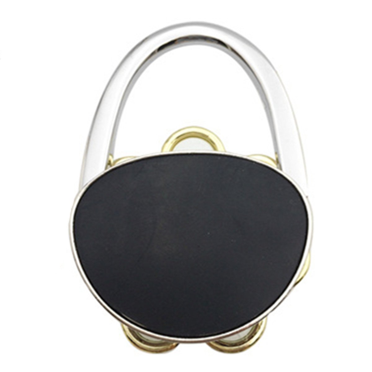 Reizteko Purse Hook, Sun Flower Foldable Handbag Purse Hanger Hook Holder for Tables (Pack of 11)