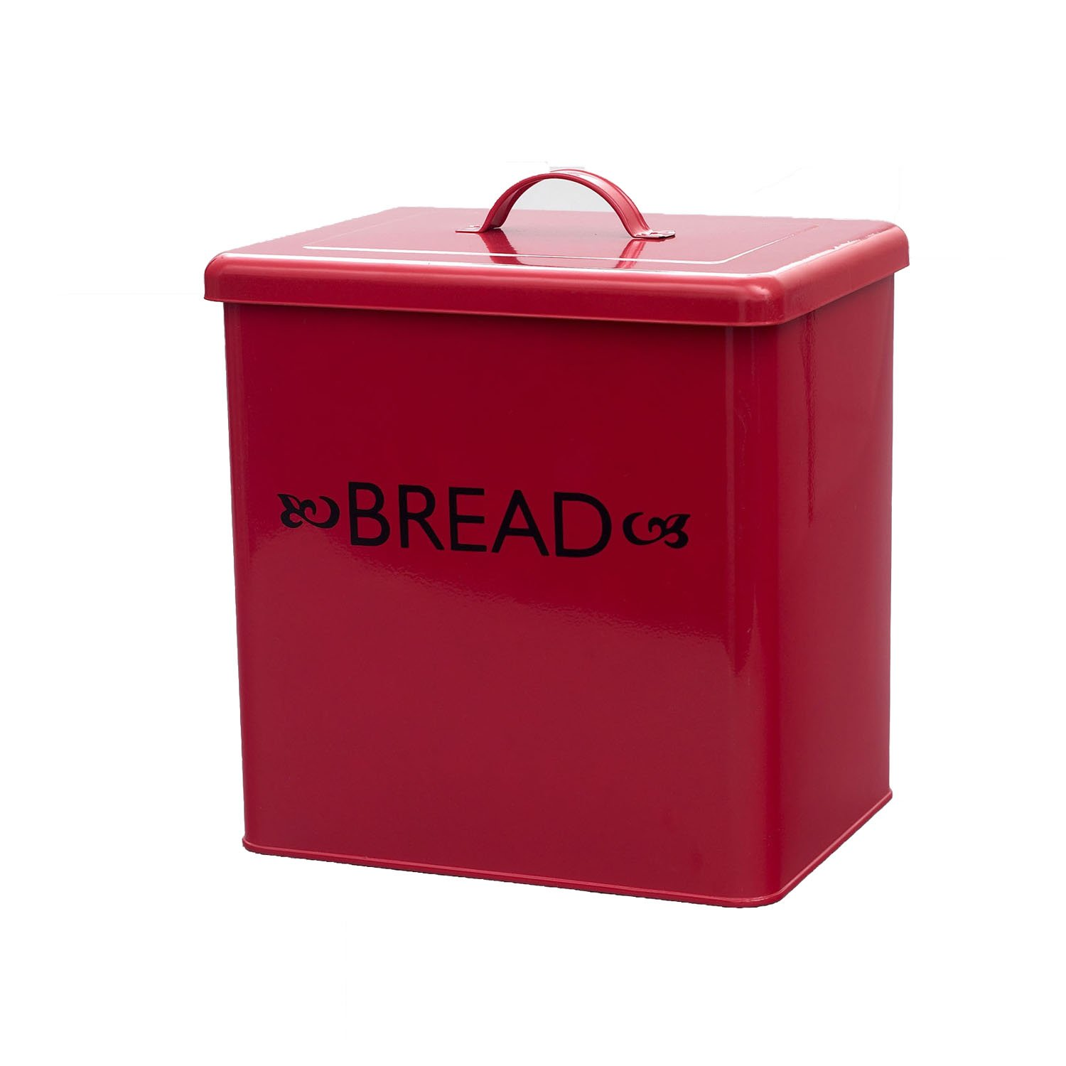 Bread Tin in Red Victor TRTAZ11A