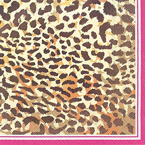 (Boston International L738700 Ihr Rosanne Beck Collections Lunch Paper Napkins, 6.5 x 6.5