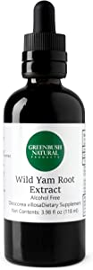 Greenbush Wild Yam Extract, Liquid Supplement for Menopause (4 Ounces)