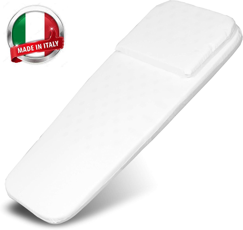 Transat Bebe Matelas Bebe pour Landau Made in Italy Berceau Bebe Matelas a Langer Nacelle Lit Bebe Coussin de Voyage Couffin 72 x 32 //27cm