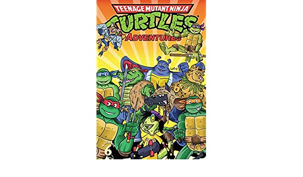 Teenage Mutant Ninja Turtles Adventures Vol. 6 (English ...