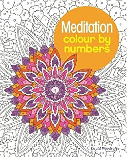 Meditation Colour By Numbers Colouring Books
