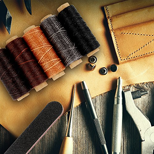 Leather Working Tools 16 Pcs Upholstery Carpet Canvas Leather