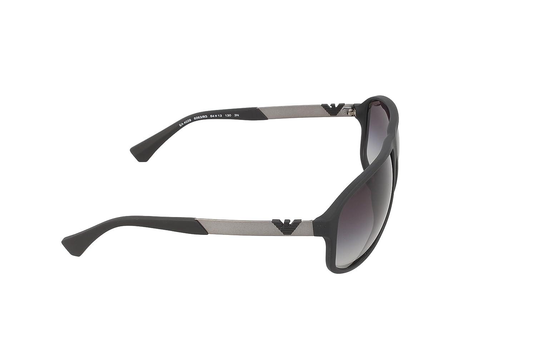 ff7f14484c3 Amazon.com  Emporio Armani EA4029 - 50638G Sunglasses Black w  Grey Gradient  Lens 64mm  Emporio Armani  Shoes