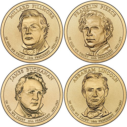 2010 P, D Presidential Dollar 8-Coin P & D Uncirculated