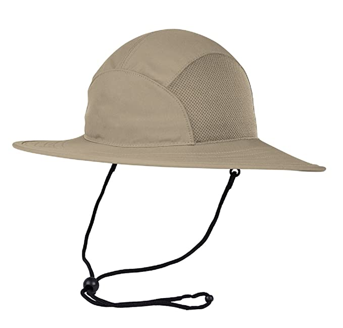 34c4ec05 Coolcore Cooling Sun Hat (Adjustable, Khaki / Khaki) at Amazon Men's ...