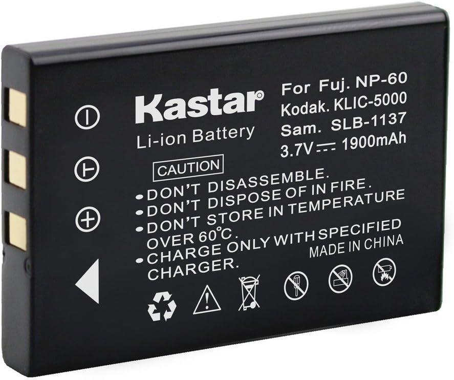 Kastar Battery 1X for Hewlett Packard A1812A L1812A L1812B Q2232-80001 HP PhotoSmart R07 R507 R607 R607xi R707 R707v R707xi R717 R725 R727 R817 R817v R817xi R818 R827 R837 R847 R926 R927 R937 R967