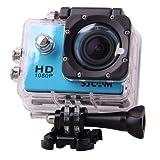 SJCAM Multi-function SJ4000 HD 1080P Waterproof Digital Video Recorder DVR Camcorder, 12 Mega pixel, 170° HD wide-angle, Multi Colors, with Waterproof Case Multiple Mounts (Blue)