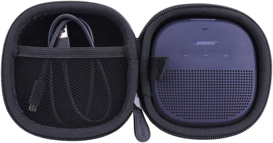 Black Hard Case for Bose SoundLink Micro Bluetooth Speaker Portable Wireless Speaker by Aenllosi