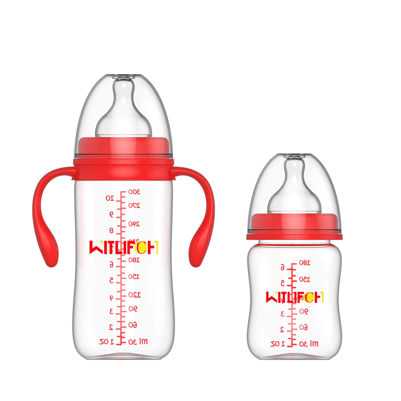 Amazon.com: WITLIFCH - Botellas anticólicas para recién ...