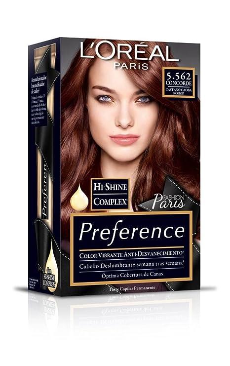 10a6b5aa68b L'Oréal Paris Preference Tinte para Cabello: Amazon.com.mx: Salud ...