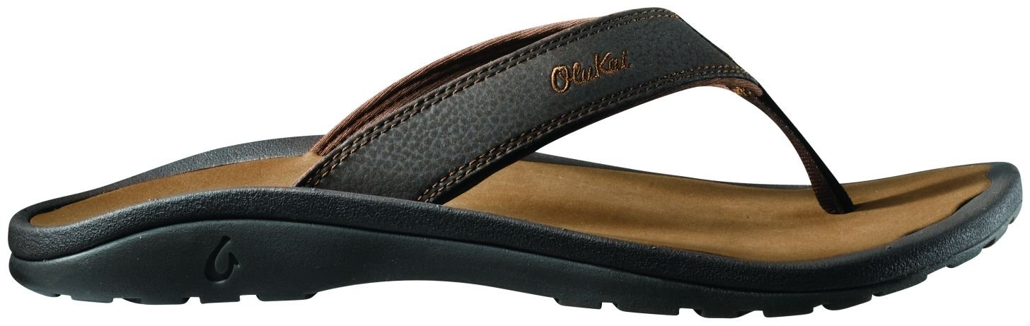 OLUKAI Ohana Sandal - Men's Dark Java/Ray 15 by OLUKAI