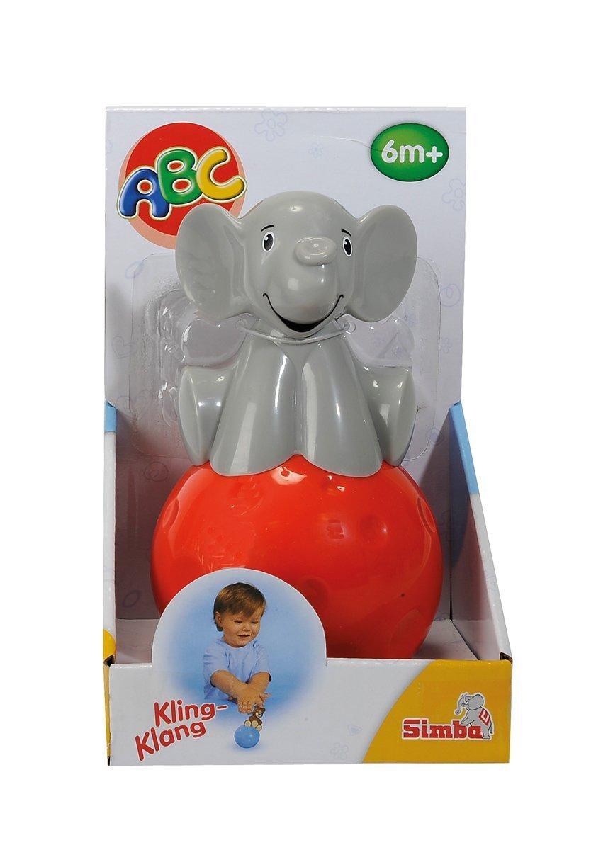 Simba 104015666 - ABC Steh-auf-Figur, 2-sortiert Simba Toys