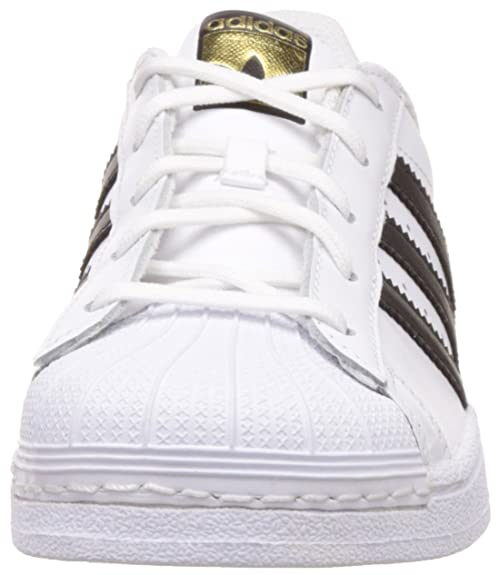 Adidas superstar foundatio, scarpe da ginnastica, bassi mixte enfant: