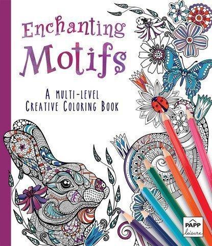 (Enchanting Motifs: A Multi-Level Creative Coloring)