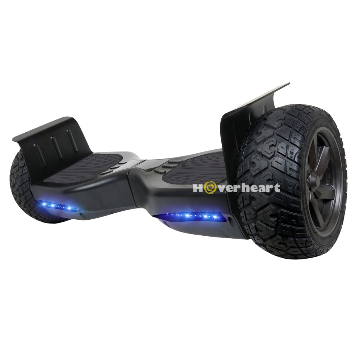 Hoverboard 8.5'' Two-Wheel Metal Self Balancing All-Terrain Alloy Wheel Electric Scooter UL 2272 Certified (Black) by HOVERHEART
