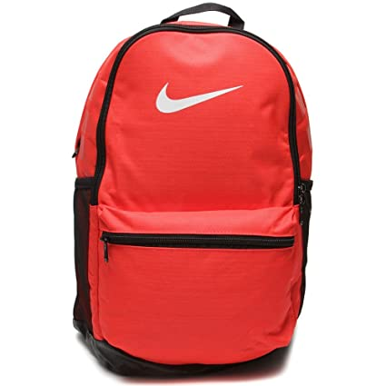 761e8b66c7f8 Image Unavailable. Image not available for. Colour  Nike Brasilia Medium  Red Backpack