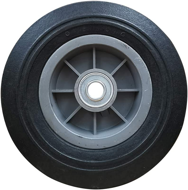 SLT 4.10//3.50-4 Flat-Free Hand Truck Tire on Wheel Durable Replacement Tire Hand Truck//All Purpose Utility Tire on Wheel