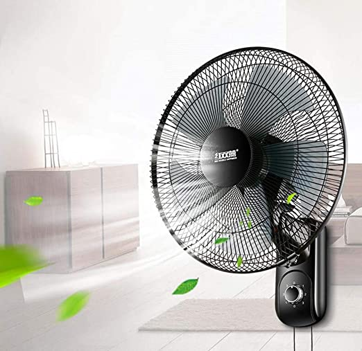Fan Fan Ventilador de 16 Pulgadas montado en la Pared, Ventilador ...