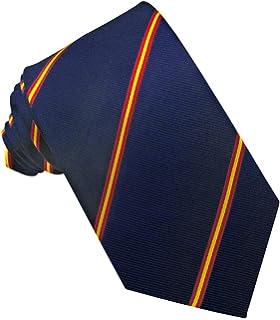 PB Pietro Baldini Corbata azul con banderas de Espana: Amazon.es ...