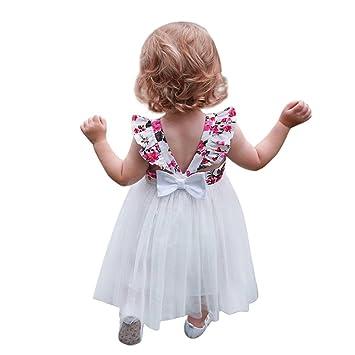 7ddb63be2 Vestido para niñas de 6 meses a 5 años de edad, ❤Familizo bonito ...