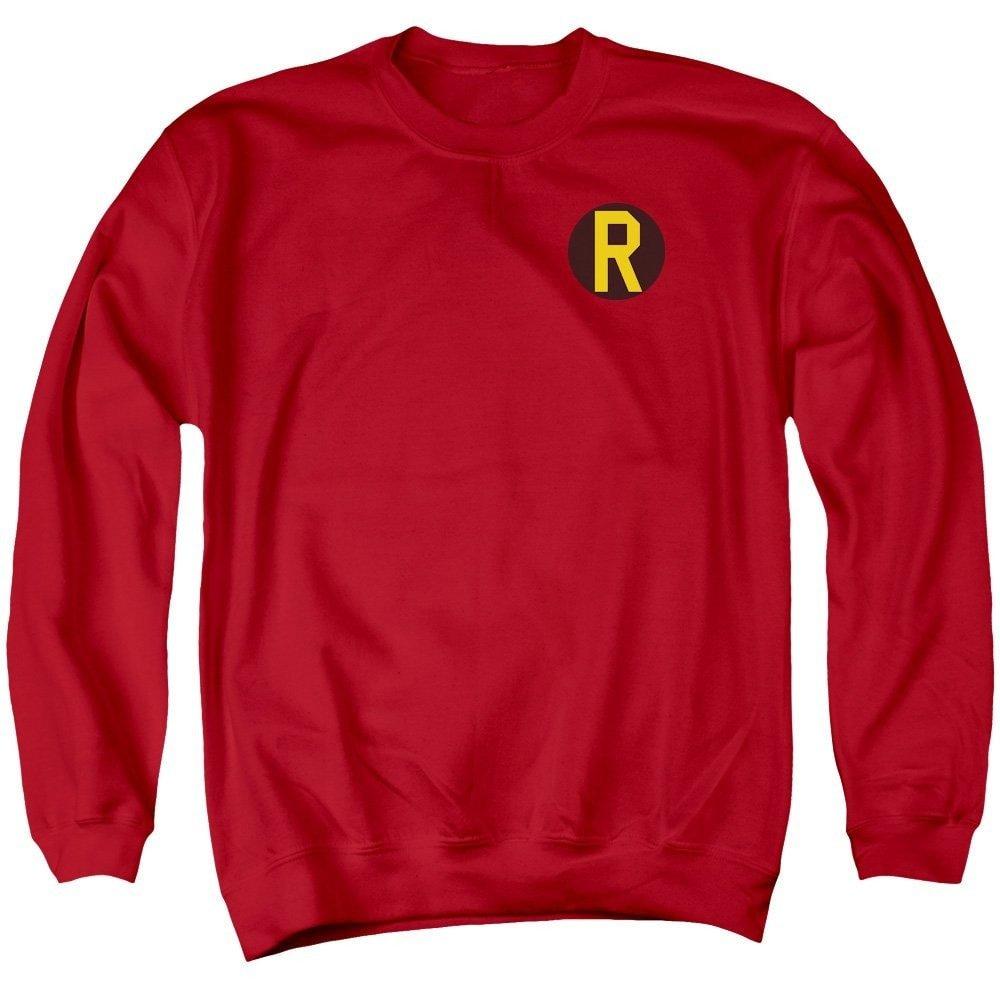 Robin Logo Adult Crewneck Sweatshirt DC Comics