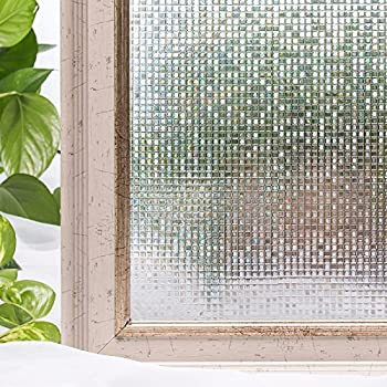Window Film 3D Static Privacy Decoration Self Adhesive For UV Blocking Heat  Control Glass Stickers,