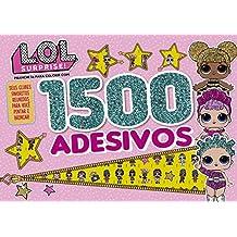 L.O.L. Surprise!: Prancheta Para Colorir com 1500 Adesivos