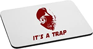 It's A Trap Admiral Ackbar Mouse Pad - Red