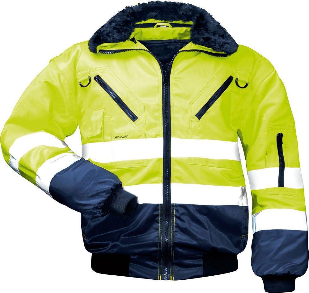 kleidung Medium gelb Norway 4025888129106 Sicherheitsausr/üstung und