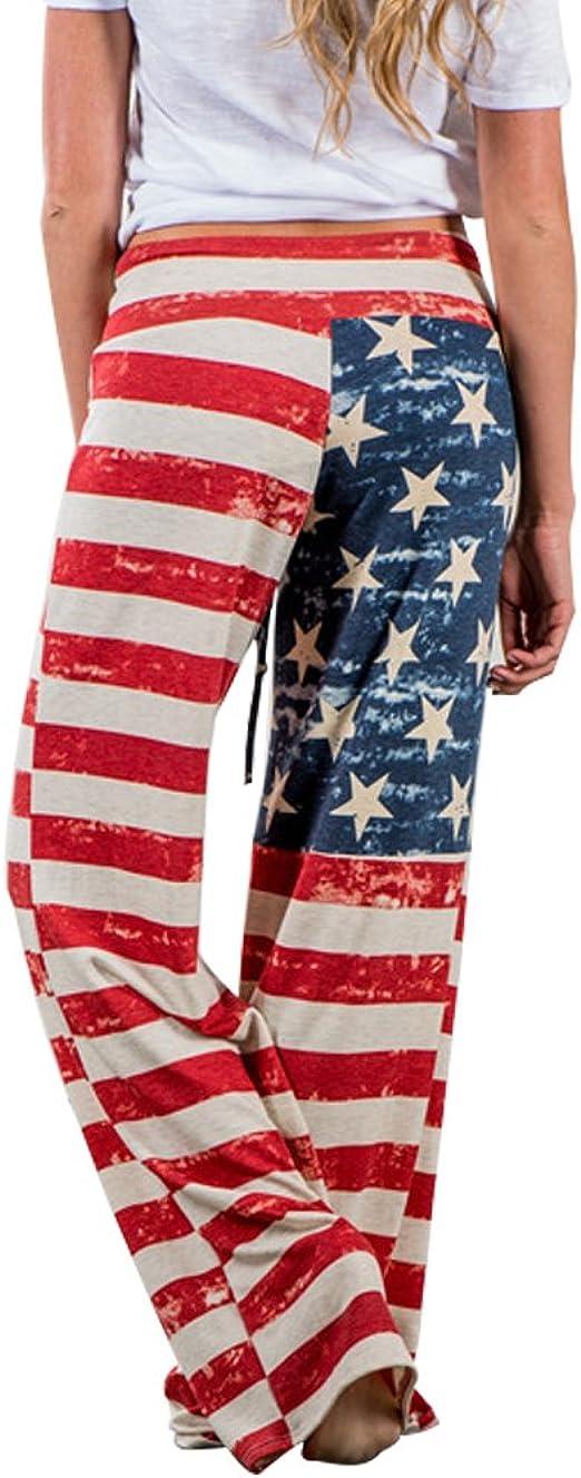 perfectos para moverse libremente Hollywood Star Fashion acampanados Pantalones de yoga con cintura en contraste