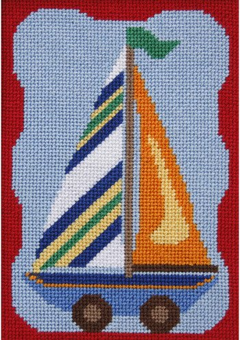 Sailboat - Needlepoint Kit