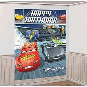 Cars 3 Scene Setter Wall Decorations Kit