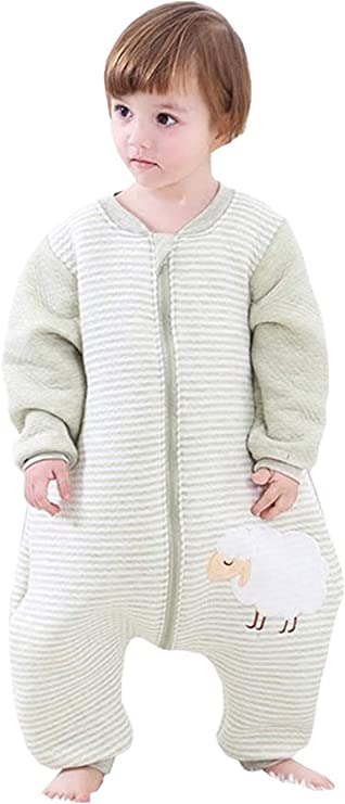 Eastery Babyfat Saco De Dormir para Bebé con Pies Pijama ...
