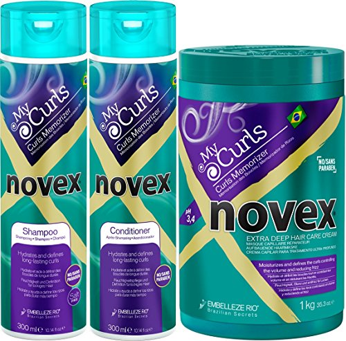 Novex My Curls Memorizer Shampoo & Conditioner 10.14oz & Dee