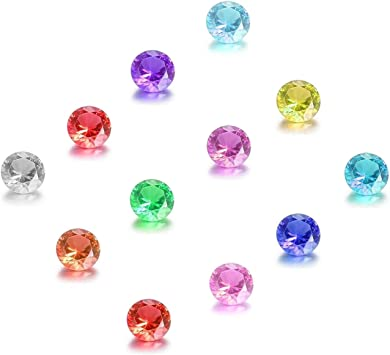 Fit Origami Owl Lockets 5mm Size Pack of 5 Birthstones January Garnet Color