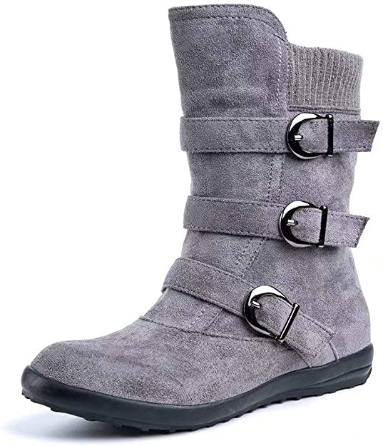 Botines Mujer Tacon Alto, Cuero Botas 7 Cm Otoño Zapatos De Botas ...