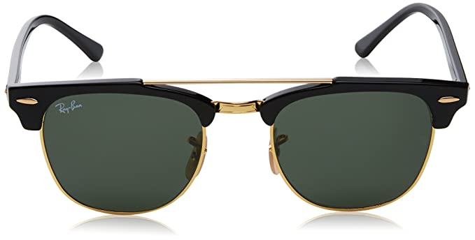 74fdf55b374 Ray-Ban UV Protected Browline Clubmaster Unisex Sunglasses -  (0RB381690151