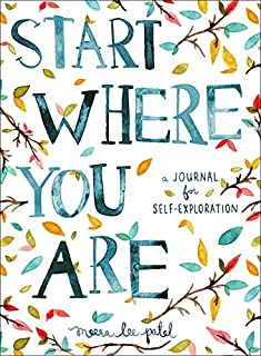 Start Where You Are: A Journal for Self-Exploration (0399174826) | Amazon Products