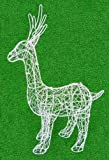 Standing Deer 22 inches high Topiary Frame, Handmade Animal Decoration