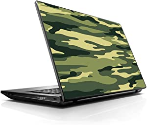 """15 15.6 inch Laptop Notebook Skin vinyl Sticker Cover Decal Fits 13.3"""" 14"""" 15.6"""" 16"""" HP Lenovo Apple Mac Dell Compaq Asus Acer Green Camo original Camouflage"""