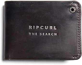 Rip Curl Men's Supply Rfid All Day Leather Wallet Black
