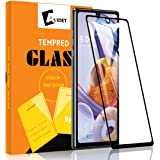 AVIDET for LG Stylo 6 Screen Protector, LG Stylo 6 Tempered Glass [Anti-Scratch][Case Friendly] 9H Hardness 3D Full Coverage Compatible for LG Stylo 6 (Black)